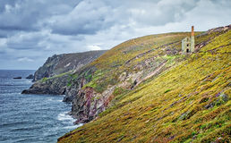 Wheal Coat Mine, Cornwall, England Stock Images