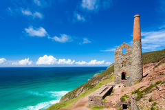 Wheal Coates Cornwall Anglia Zdjęcia Stock