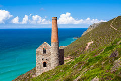 Wheal Coates Cornwall England Stock Photography
