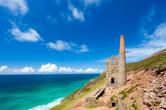 Wheal Coates Cornwall England Royalty Free Stock Photo