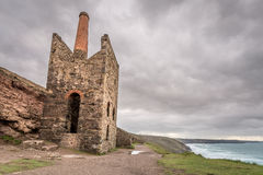Wheal coates england uk. Wheal coates, england uk with beautiful landscapes and nature and industrial heritage Stock Photography