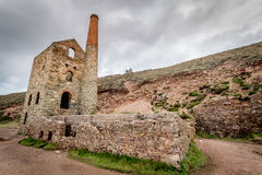 Wheal coates england uk. Wheal coates, england uk with beautiful landscapes and nature and industrial heritage Royalty Free Stock Photography