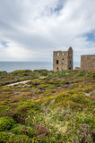 Wheal coates england uk. Wheal coates, england uk with beautiful landscapes and nature and industrial heritage Stock Images