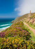 Wheal Coates near St Agnes Cornwall Stock Photography