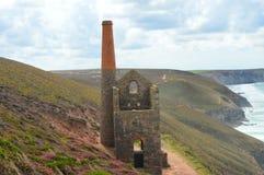 Wheal Coates. Stunning Cornish landscape featuring the long abandoned wheal coates mine Stock Image