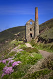 Wheal Coates Tin Mine, Cornwall Stock Images