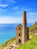 Wheal Coates Tin Mine Cornwall cornouaillais R-U photographie stock libre de droits