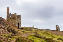 Wheal Owles Cornwall Royalty Free Stock Photography