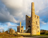 Wheal Peevor Stock Photo