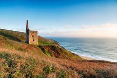 Wheal Prosper Cornish Engine House Royalty Free Stock Photos