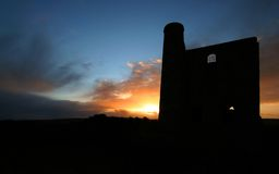 Wheal Reeth near Cripplesease West Stock Photography