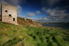 Wheal Trewavas looking towards Royalty Free Stock Photos