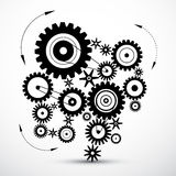 Wheals - Cogs - Gears Royalty Free Stock Images