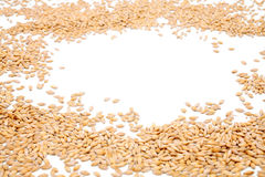 Wheat background view from the top close up Royalty Free Stock Photography