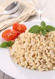 Wheat,basil and tomato Royalty Free Stock Image