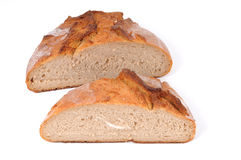 Wheat beer bread Royalty Free Stock Photos