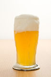Wheat beer in a glass Royalty Free Stock Photo