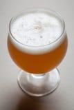 Wheat beer on gray Stock Photo