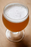 Wheat beer on wood Royalty Free Stock Photos