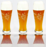 Wheat beers Royalty Free Stock Images