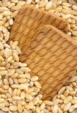 Wheat & Biscuit Royalty Free Stock Photo