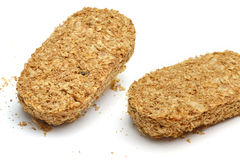 wheat biscuits Royalty Free Stock Photo