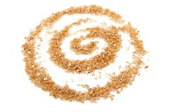Wheat bran Royalty Free Stock Images