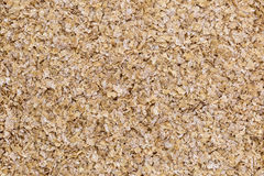 Wheat bran background Stock Images