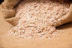 Wheat bran Stock Photo