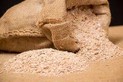Wheat bran Royalty Free Stock Photography