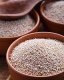 The wheat bran Stock Photography