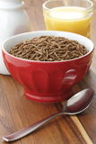Wheat bran cereal breakfast Stock Photo