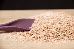 Wheat bran Stock Photography