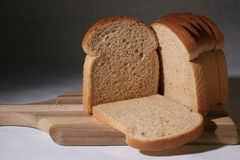 Wheat bread. Healthy and delicious sliced wheat bread Stock Image