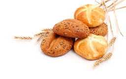 Wheat and bread Royalty Free Stock Images