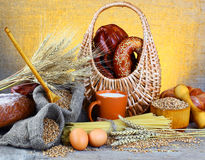 Wheat bread Royalty Free Stock Photography