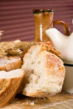 Wheat bread Stock Images