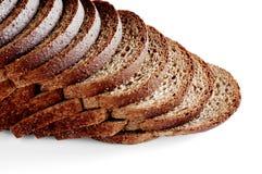 Wheat Bread. Sliced royalty free stock photo