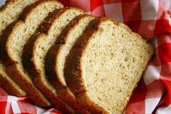 Wheat bread Stock Photo
