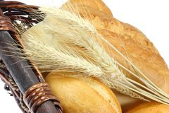 Wheat bread. royalty free stock images