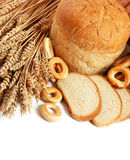 Wheat and bread Royalty Free Stock Image