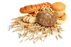 Wheat and bread Royalty Free Stock Photography