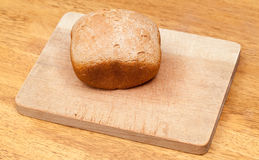 Wheat bread baked in machine Royalty Free Stock Photos