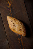 Wheat bread. Covered individual wheat bread seeds Stock Photography