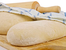 Wheat bread dough Royalty Free Stock Images