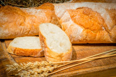 Wheat bread handmade rustic still life Royalty Free Stock Photography