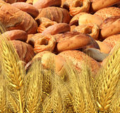 Wheat Bread Harvest Stock Image