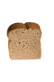 Wheat bread isolated on white Royalty Free Stock Images
