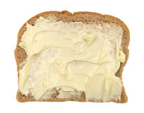 Wheat bread with mayonnaise and margarine Royalty Free Stock Images