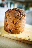 Wheat bread with raisins Royalty Free Stock Photos